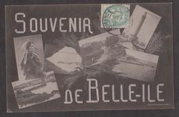 CPA SOUVENIR DE BELLE-ILE- - Belle Ile En Mer