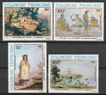 POLYNESIE - Poste Aérienne - PA N° 170/3 ** (1982) Peintures - Poste Aérienne