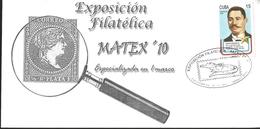 J) 2010 CUBA-CARIBE, PHILATELIC EXHIBITION, MATEX, CENTENNIAL OF THE DEATH OF GENERAL DE BRIGADA VIDAL DUCASSE - Cuba