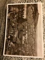 1936 Trattoria Formato Grande Bianco E Nero Viaggiata Bologna Panorama Dall'alto Della Torre Asinelli - Bologna