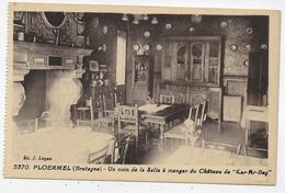 PLOËRMEL - N° 3570 - UN COIN DE LA SALLE A MANGER DU CHATEAU DE KER AR BEG - CHEMINEE - CPA NON VOYAGEE - Ploërmel