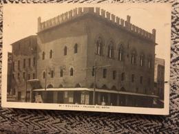 1927 Cartolina Formato Piccolo Piangiate Bologna Palazzo Dei Notai - Bologna