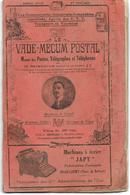 Vade-mecum Postal De 1939 – Nombreux Renseignements Sur Les Tarifs Postaux, Financiers, Téléphoniques Et Télégraphiques - Administrations Postales
