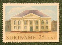 25 Ct Historische Gebouwen; NVPH 364 Mi 399 1961 Used / Gestempeld SURINAME / SURINAM - Surinam ... - 1975