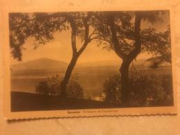 1947 Cartoline Formato Piccolo Viaggiata Sorrento Il Vesuvio Da Capodimonte - Salerno