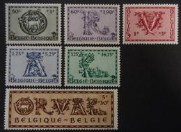 625/630 Mnh** - Bélgica