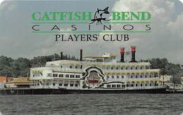 Catfish Bend Casino Burlington, IA Slot Card - BLANK - Casino Cards