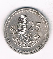 25 CENTS 1980 CYPRUS /1495/ - Chypre