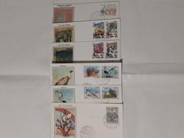 ITALIA 1995 LOTTO N.6 FDC ANNULLO FILATELICO - 1946-.. République