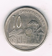 10 DINAR 2003 SERVIE /1497/ - Serbie