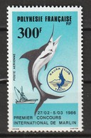POLYNESIE - Poste Aérienne - PA N° 190 ** (1986) - Poste Aérienne