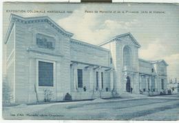 Marseille, Exposition Coloniale 1922, Palais De Marseille Et De La Provence,N/V - Esposizioni