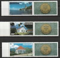 POLYNESIE - Poste Aérienne - PA N° 193/5 ** (1986) - Poste Aérienne