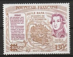 POLYNESIE - Poste Aérienne - PA N° 197 ** (1987) - Poste Aérienne