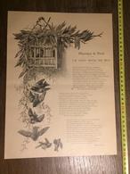 DOCUMENT 1897 LE JOLI MOIS DE MAI D AIME GIRON - Old Paper