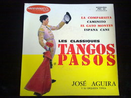 José Aguira Y Su Orquesta: Les Classiques: Tangos Et Pasos/ 45t President PRC231 - Vinyl Records