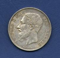 5F-Leopold II-1870 - 09. 5 Francs