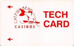 Catfish Bend Casino Burlington, IA Slot Card - TECH CARD - Casino Cards