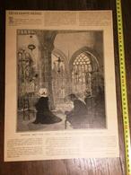 DOCUMENT 1897 SEIGNEUR PRIEZ POUR NOUS DAVENT DEUX CARNAVALS A ROME - Old Paper