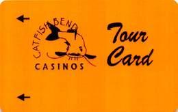 Catfish Bend Casino Burlington, IA Slot Card - TOUR CARD (BLANK) - Casino Cards