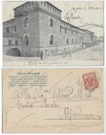 Milano - Castello Sforzesco, 1903, Inviata A Fatima Miris Nell'anno Del Debutto - Milano