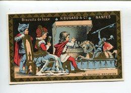 Chromo  Nantes Biscuits Bugard Tournoi Enfantin - Autres
