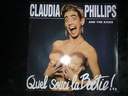 Claudia Phillips And The Kicks: Quel Souci La Boétie!/ 45t Barclay - Vinyl Records