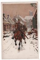 +1909,  Feldpost, Nürnberg,  Ulanen Zu Pferd - Weltkrieg 1914-18