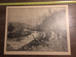 DOCUMENT 1897 UN COIN DU CHAROLAIS LA CRETE GRECE ILE CAPITAINE MARIN CAFE CANDIOTE - Old Paper