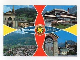 Bormio (Sondrio) - Souvenir - Cartolina Multipanoramica - Non Viaggiata - (FDC14263) - Sondrio