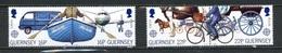 Europa CEPT Guernesey - Guernsey 1988 Y&T N°419 à 422 - Michel N°417 à 420 *** - Se Tenant - Europa-CEPT
