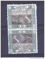 Sarre  :  Mi  57  III *  Tête-bêche - 1920-35 Société Des Nations