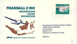 1981 , INDONESIA , JAKARTA , TRANSALL C160 , AVIONES , AVIACIÓN , INDONESIAN LEASE OPERATION - Indonesia