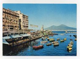 Napoli - Il Vesuvio Da S. Lucia - Non Viaggiata - (FDC14265) - Napoli