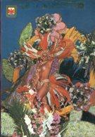 06 - Nice : Bataille De Fleurs Nocturne (femme Seins Nus) - Carnaval