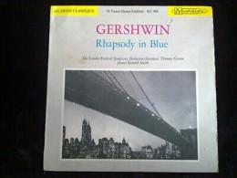 Gershwin: Rhapsody In Blue/ 33T Musidisc RC 416 - Klassik