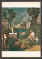 PG116/ GIORGIONE, *La Tempesta - La Tempête*, Venise, Gallerie Dell'Accademia - Peintures & Tableaux