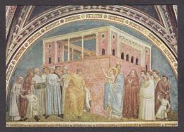 PG206/ GIOTTO, *San Francesco Rinuncia Ai Beni Paterni*, Firenze, Basilica Di Santa Croce - Schilderijen