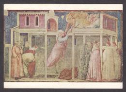 PG207/ GIOTTO, *San Giovanni Evangelista Ascende Al Cielo*, Firenze, Basilica Di Santa Croce - Peintures & Tableaux