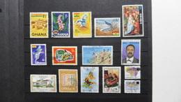 Afrique > Ghana : 15 Timbres Oblitérés - Ghana (1957-...)