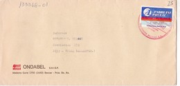 WELLA ONDABEL. ENVELOPE CORREO PRIVADO PRIVATE MAIL CIRCULEE YEAR 1990 ANDRENI POSTAL - BLEUP - Lettres & Documents