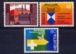 SUISSE - 1030/1032** - TIMBRES DE PROPAGANDE - Suisse