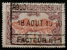 AAFE 1583   HOUDENG-GOEGNIES   //   FACTEUR  N° 1      TR 41 - Chemins De Fer