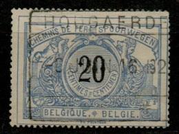AAFE 1589    HOUGAERDE      TR 17 - Chemins De Fer