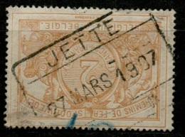 AAFE 1601   JETTE     TR 27 - Chemins De Fer