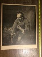 DOCUMENT 1897 LE DEJEUNER DIEPRANN GRAVE PAR FROMENT - Old Paper