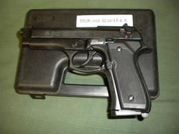 Pistolet A Blanc Bruni 92   9 Mm - Armes Neutralisées