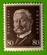 GERMANIA REICH 1928 Paul Von Hindenburg - Germania