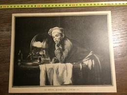 DOCUMENT 1897 AU REPOS PAR JOSEPH BAILE COMMIS DE CUISINE - Old Paper