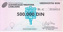 3824     SLOVENIJA   BON 500.000  DINARA - Slovénie